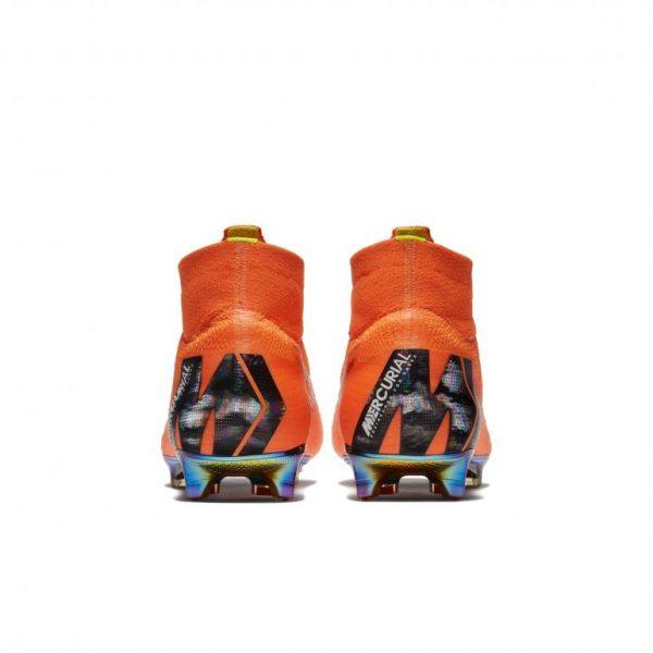 Chaussure Mercurial Superfly 360 orange derrière